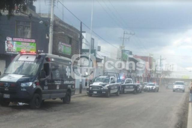 Riña por espacios deja 4 heridos frente al mercado Morelos