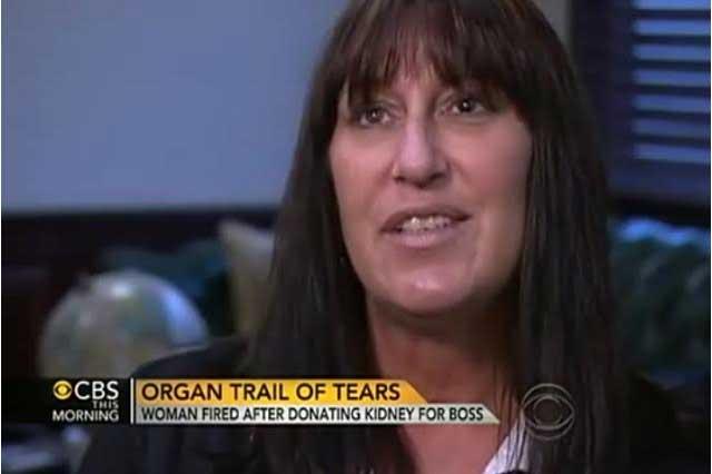 Mujer dona riñón a su jefa y la despiden por faltar al trabajo