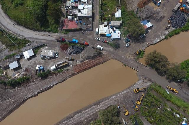 Descargas ilegales en el Atoyac afectan a 22 municipios poblanos