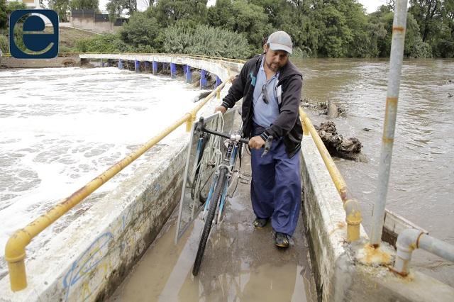 Barbosa anuncia plan maestro para sanear el río Atoyac