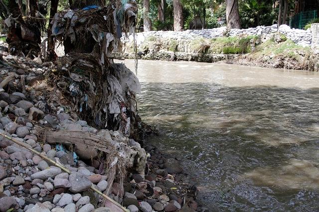 Inicia proceso para colocar colectores sanitaros en el Atoyac
