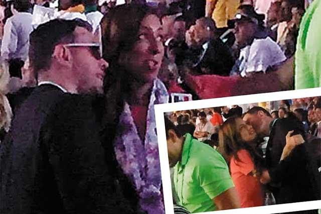 Acusan a Alfredo Castillo de pagar el viaje de su novia a Río de Janeiro