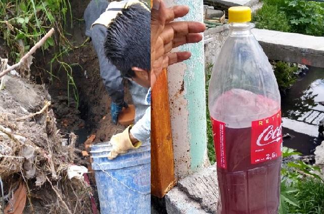 Clausuran drenajes de textileras por contaminar el río Alseseca