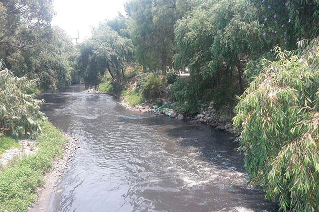 Denuncian contaminación en ramal del Atoyac en Texmelucan