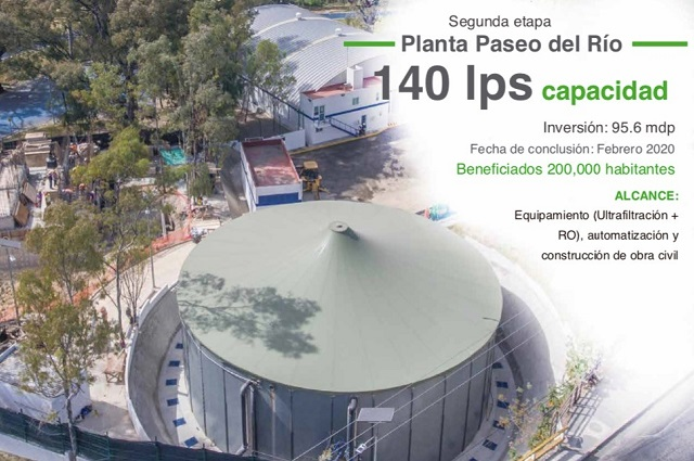 Anuncia Agua de Puebla obras por 416 mdp en la capital del estado
