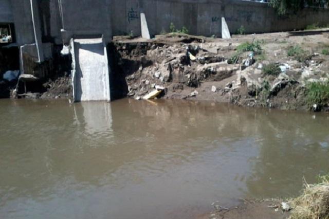 Empresas clandestinas contaminan el río Atoyac, acusa la Canacintra