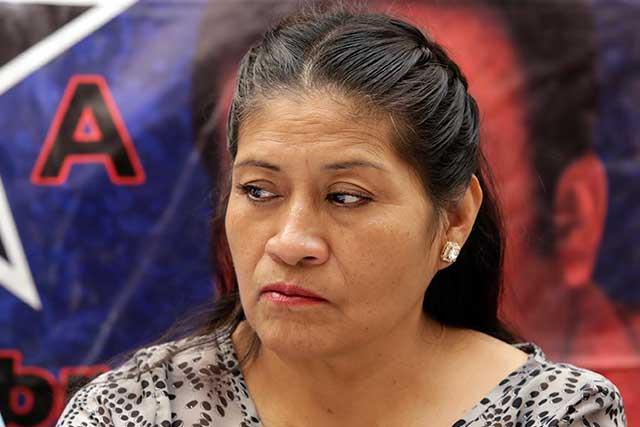 Cita PGR a declarar a Rita Amador; teme que pueda ser detenida