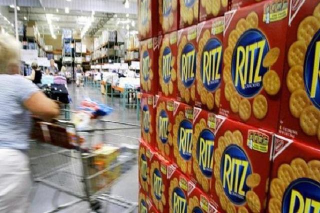 Retiran galletas Ritz en EU por posible salmonela