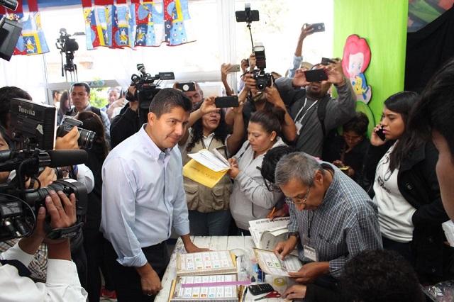 Descarta Eduardo Rivera riesgo en apertura de casillas