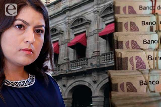 Deja Claudia Rivera 750 mdp a Rivera Pérez para cerrar el año