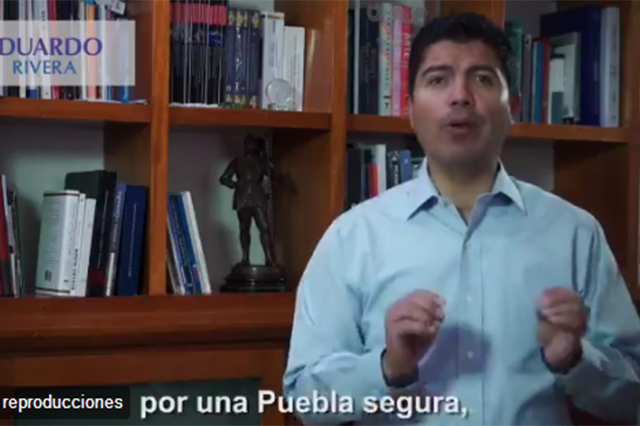 Se queda en el PAN Eduardo Rivera y alista proyecto en 2018