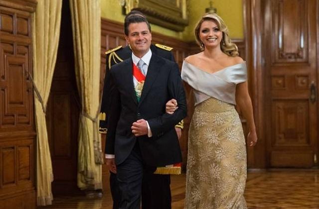 Enrique Peña y Angélica Rivera reaparecen juntos en funeral