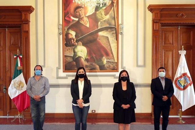Ratifica Rivera a secretarios y hace cambio en Comunicación Social