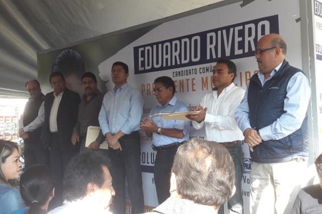 Llama Rivera Pérez a empleados municipales a votar libremente