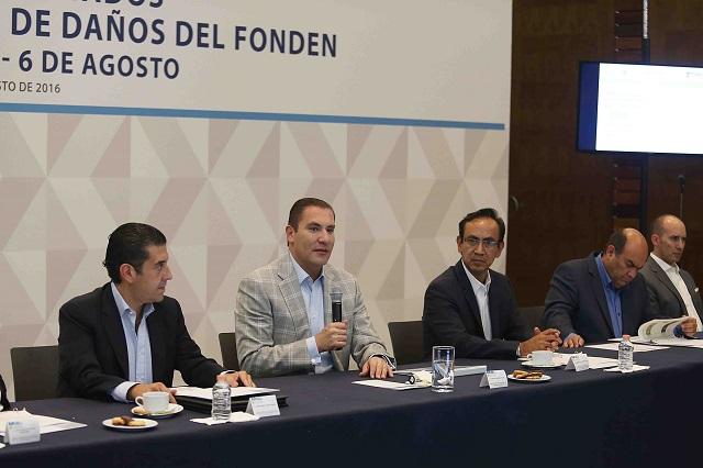 Daños por tormenta costarán 2 mil 44 millones de pesos, dice RMV