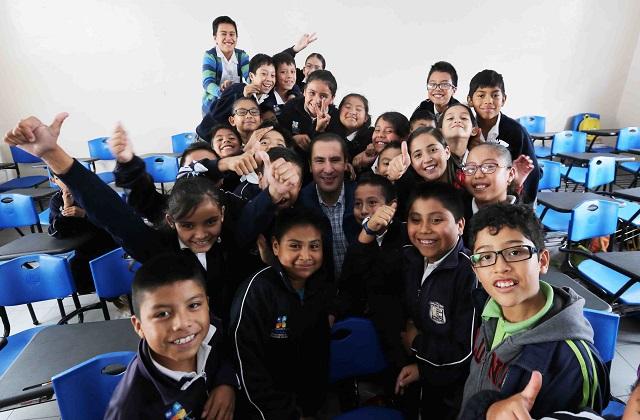 Destaca RMV lugar de Puebla en niveles de educación en el país