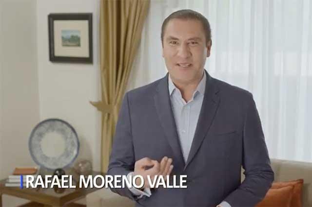 Baja INE spot de Moreno Valle por promocionarse con el TLCAN