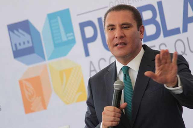 Amenaza Moreno Valle con abandonar Frente si concretan imposición