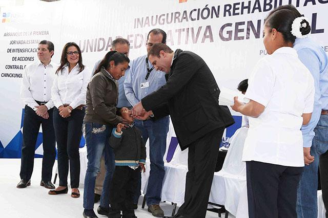 Puebla eleva acciones contra Dengue, Chikungunya y Zika