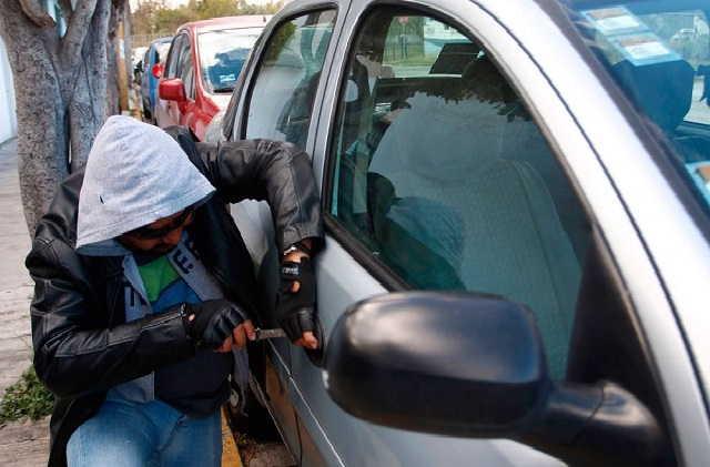 Roban un auto cada media hora en Puebla al iniciar 2019
