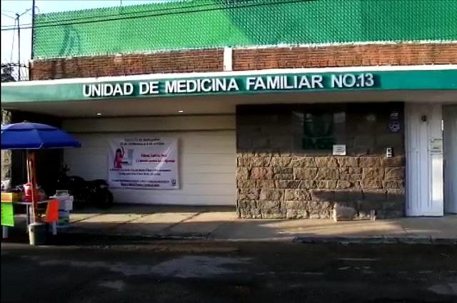 Roban medicamentos en clínica del IMSS en Bugambilias