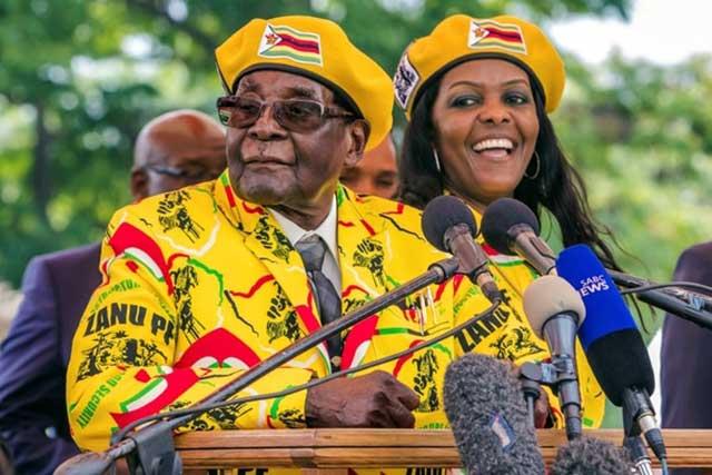 Renuncia Robert Mugabe a la presidencia de Zimbabue