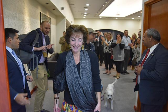 Roberta Jacobson deja la embajada de EU en México