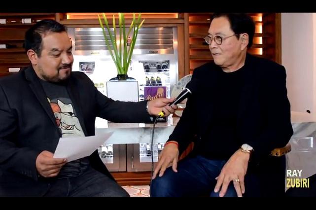 Robert T. Kiyosaki habla sobre la vida, el fracaso, Peña Nieto y Trump