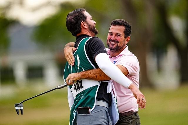 Mexicano Roberto Díaz es nuevo campeón del Louisiana Open