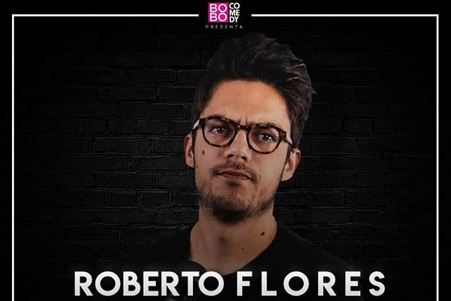 Roberto Flores y su show de stand up llegan a Cholula