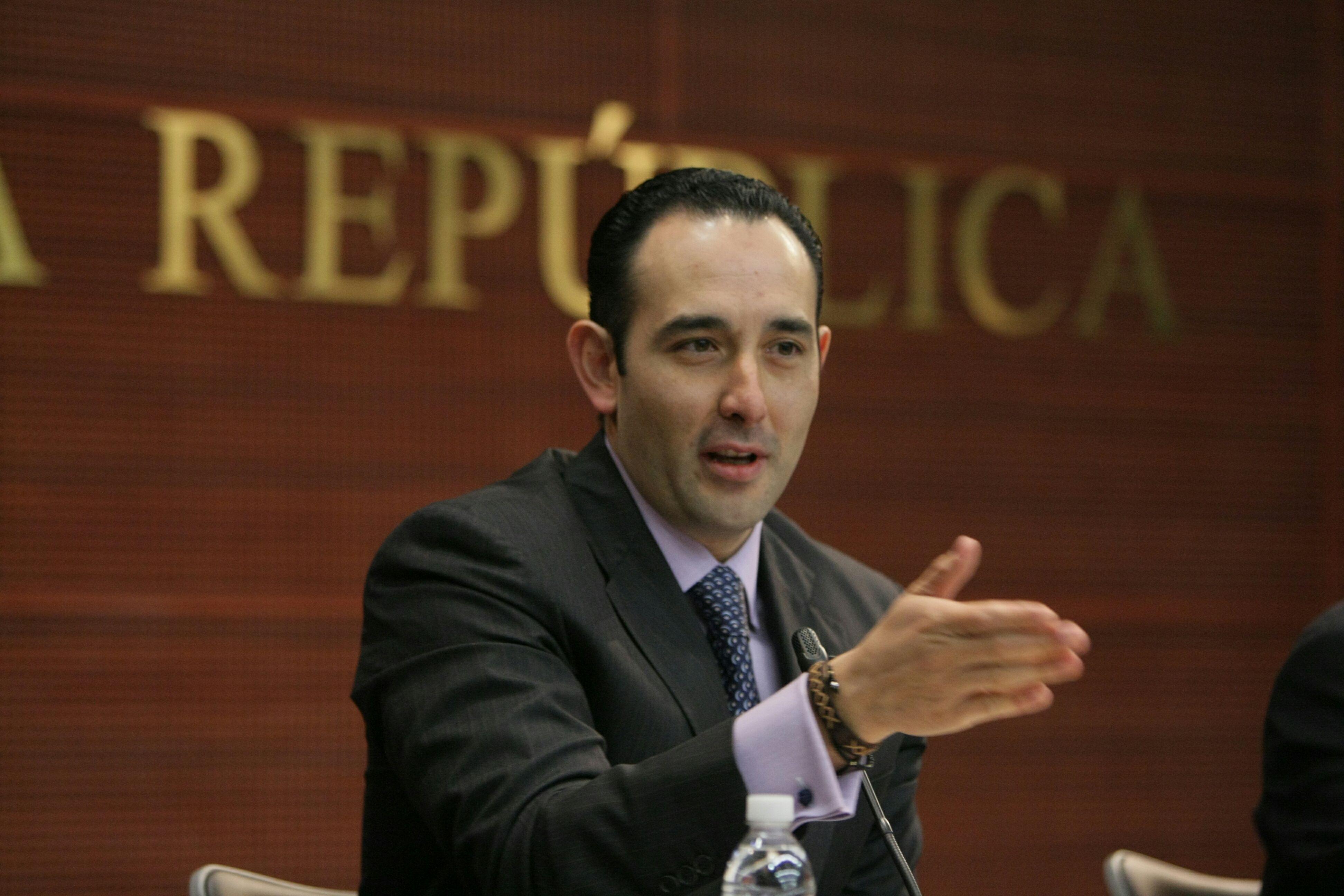 Eligen al panista Ernesto Cordero como nuevo presidente del Senado