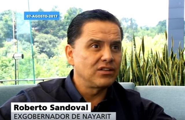 Inhabilitan por 20 años a Roberto Sandoval, ex gobernador de Nayarit