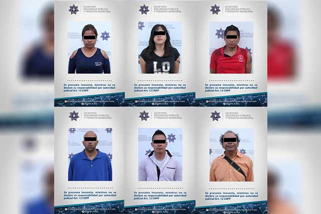 Caen cuatro hombres y dos mujeres que robaban en la ruta Jaguar