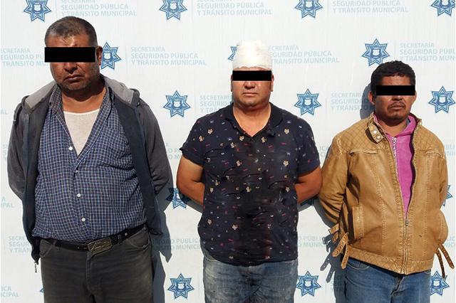 Caen en prisión tres por robo de cajero automático