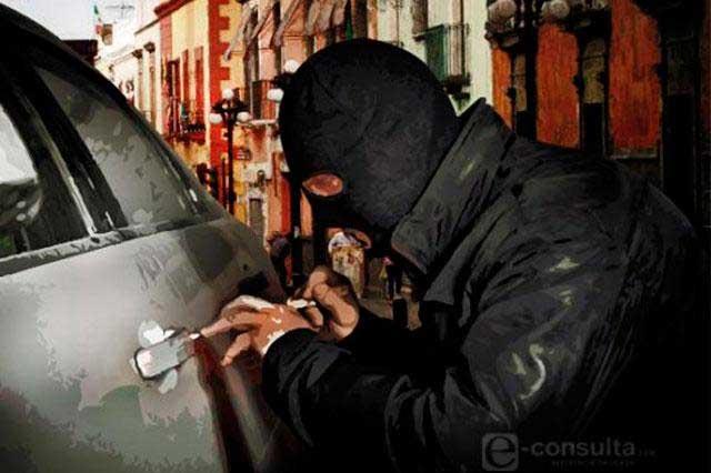 Es Puebla 6º lugar nacional en robo de vehículos con violencia