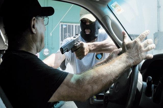 Escala Puebla al 3er lugar con más robos violentos de autos