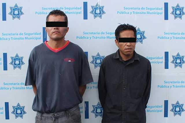 En diferentes acciones, la SSPTM detiene a 6 presuntos asaltantes