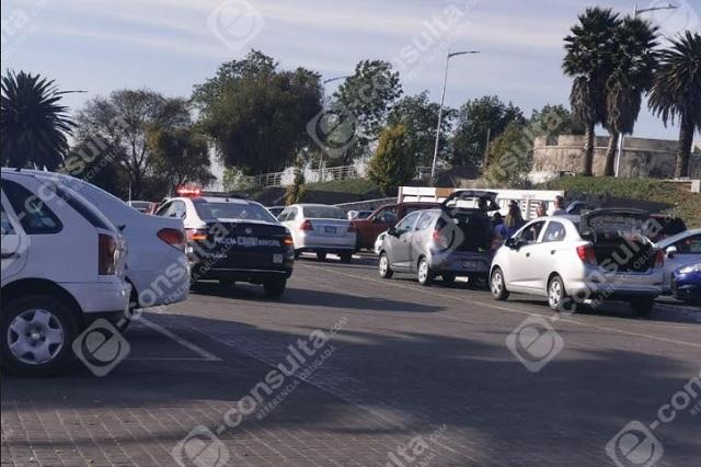 Turistas sufren robo mientras paseaban frente a Casa Puebla