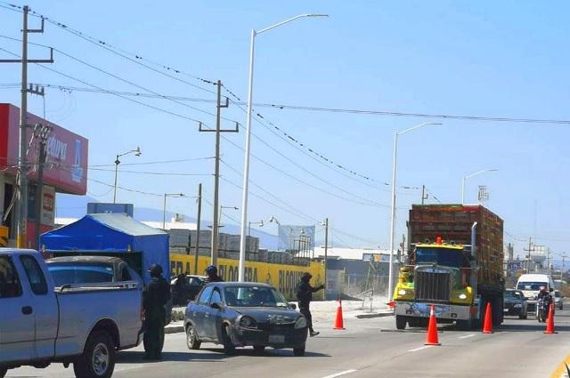 Hasta 15 robos diarios se registran en la Tehuacán-Orizaba