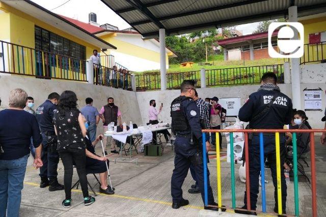 Encapuchados intentan robar urnas en el Fresnillo en Teziutlán