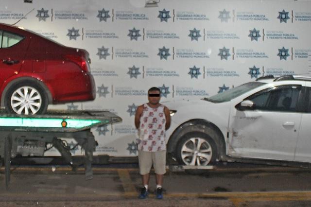 Recuperan auto robado y capturan a sujeto en Constitución Mexicana