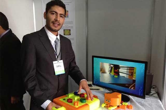 Desarrollan estudiantes BUAP robot para niños de educación básica