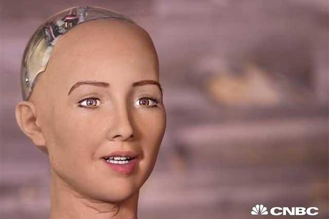 Sophia, la mujer robot que advierte que destruirá humanos