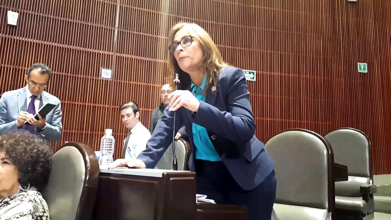 Eva Cadena, parte de un espectáculo burdo y electorero, dice Roció Nahle