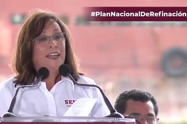 Ya van 5 detenidos durante combate a huachicoleo, dice Rocío Nahle