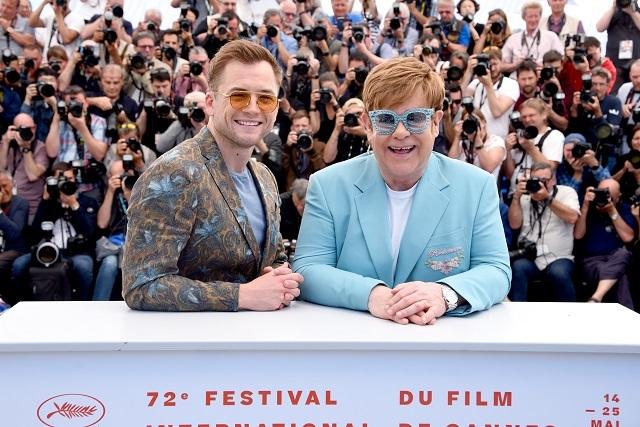 Elton John presenta ROCKETMAN en Cannes