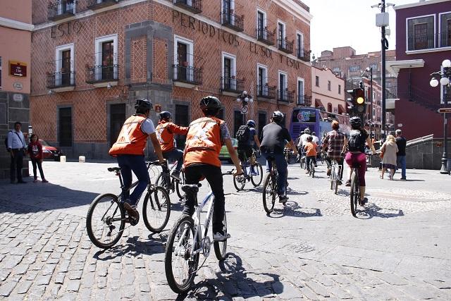 Cambiarán obra en la 18 sur en contra de ciclistas, denuncian