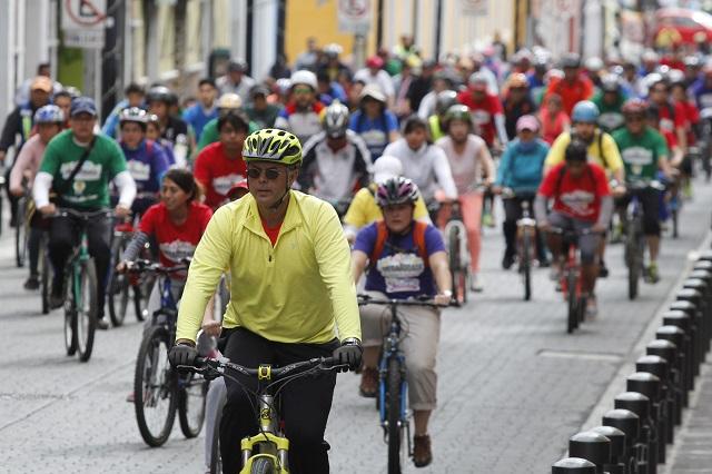 PRD pide acciones para prevenir accidentes de ciclistas poblanos