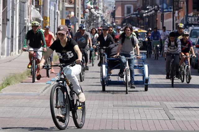 Proponen apoyo a bicicletas en Puebla luego de la cuarentena
