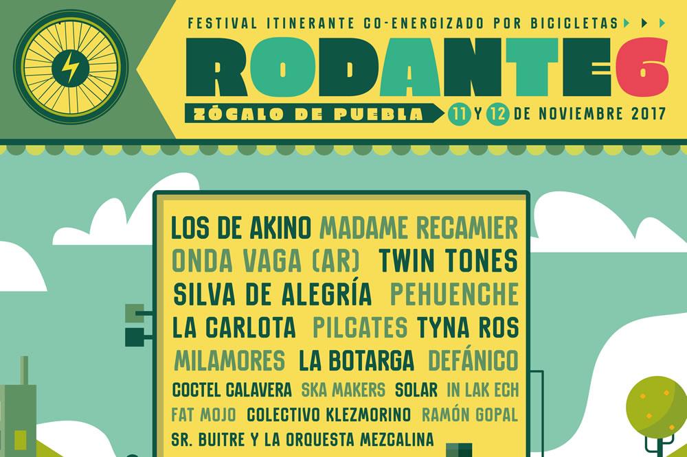 ¡Llega a Puebla la sexta edición del Festival Rodante!
